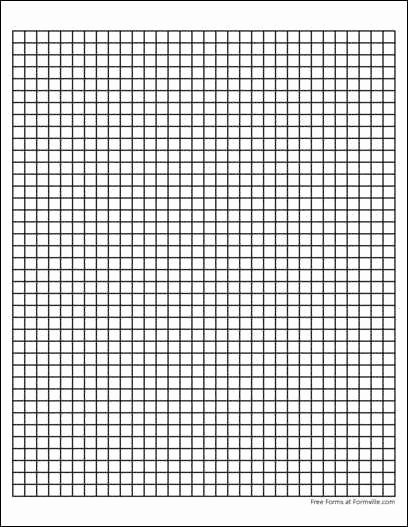 1 Inch Square Grid Paper Fresh Heavy Line Graph Paper 4 Squares Per Inch