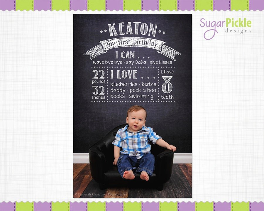 1st Birthday Chalkboard Sign Template Best Of Birthday Chalkboard Template Birthday Overlay First Birthday