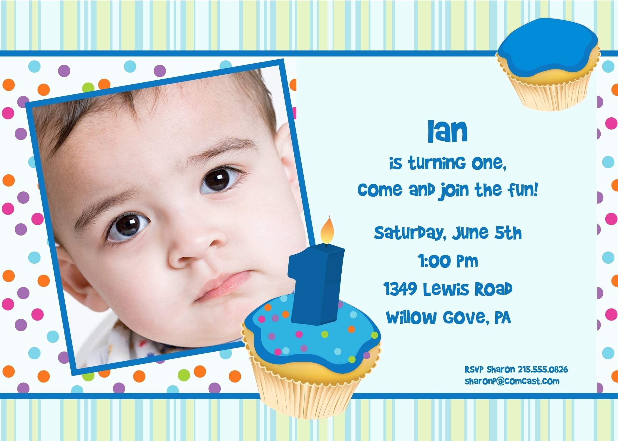 1st Birthday Invitation Wording Samples Awesome 1st Birthday Invitation Letter