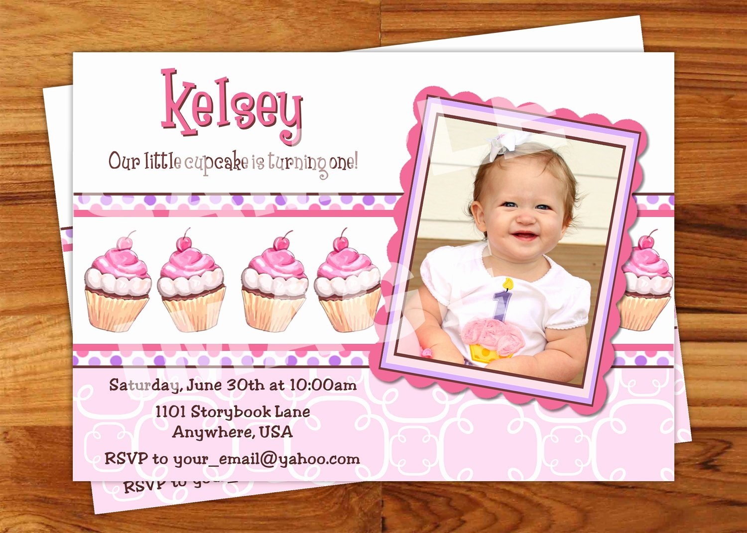 birthday party invitation message sample 4