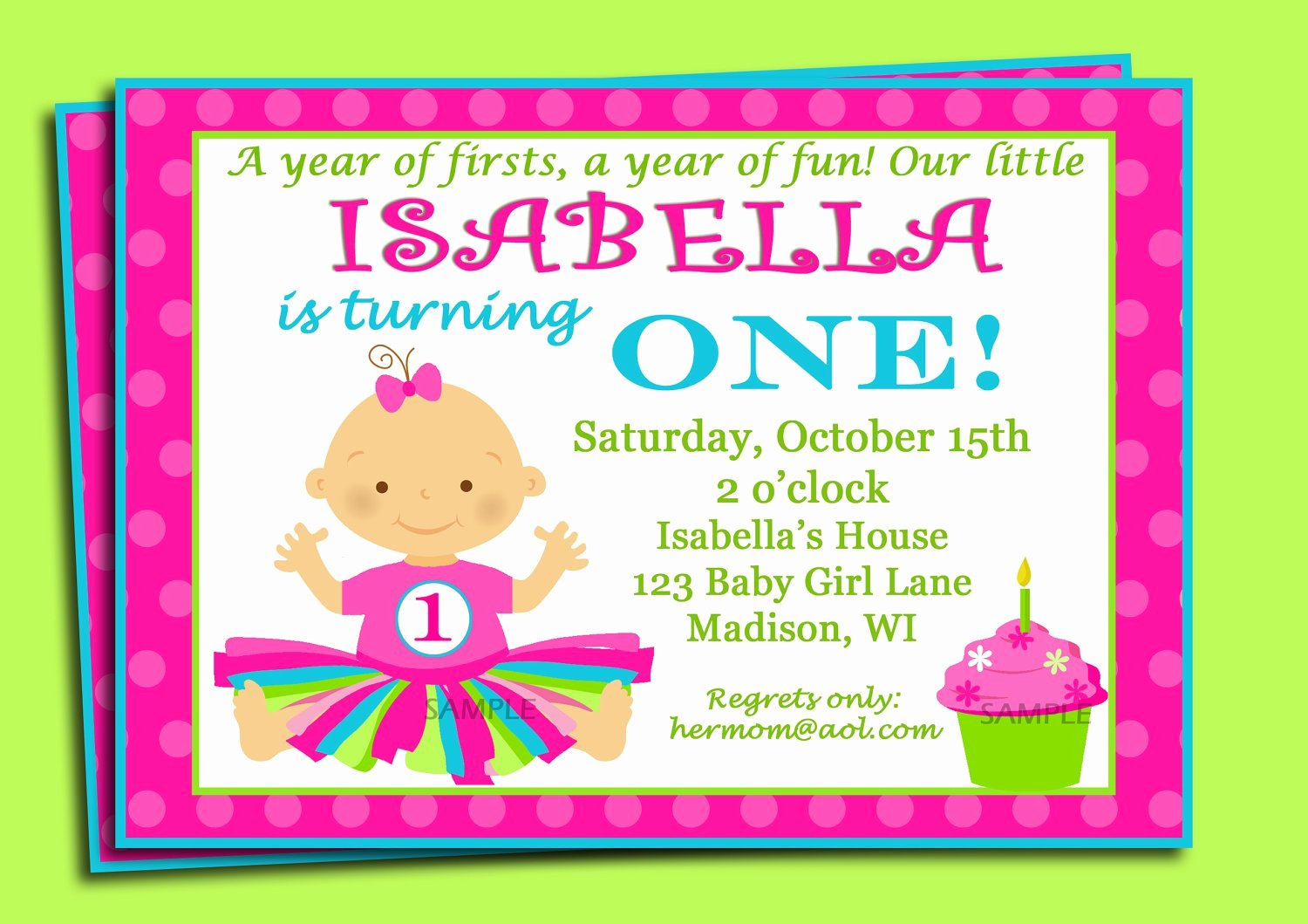 1st Birthday Invitation Wording Samples Unique Sample First Birthday Invitation Wording
