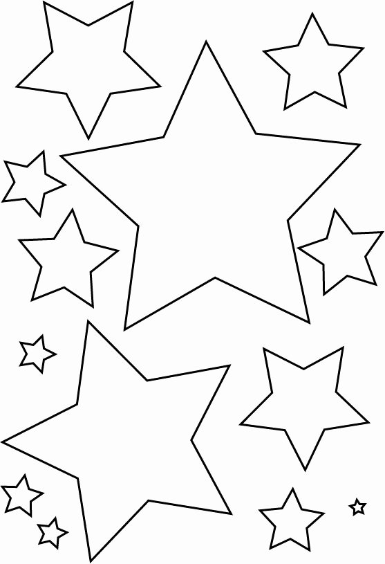 2 Inch Star Stencil Fresh Best 25 Star Template Ideas On Pinterest