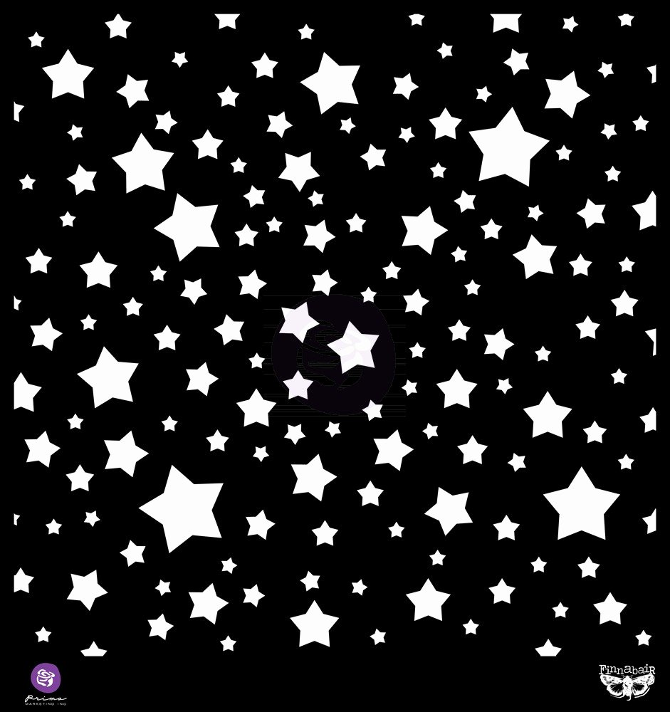 2 Inch Star Stencil New Prima Stamps and Stencils