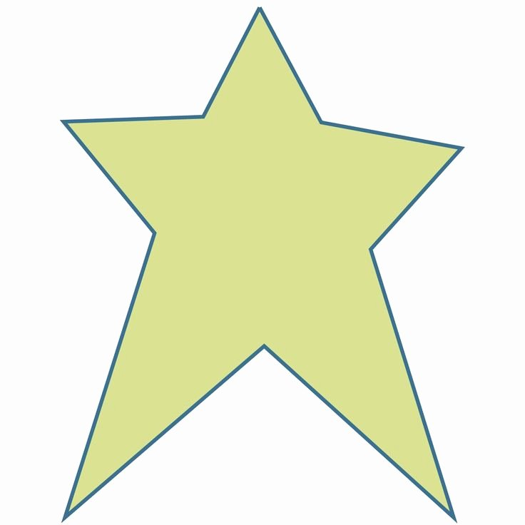 2 Inch Star Stencil New Star Shape Templates and Patterns