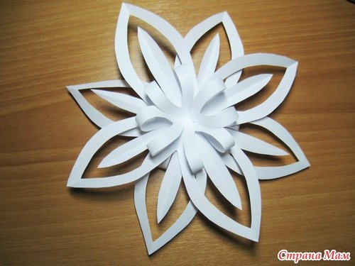 3 D Paper Snowflakes Awesome Christmas Paper Snowflake Tutorial