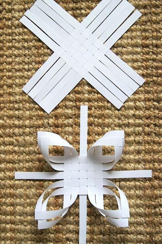 3 D Paper Snowflakes Beautiful Haikaranpesä Kodiksi Kolmen Tähden Päivä