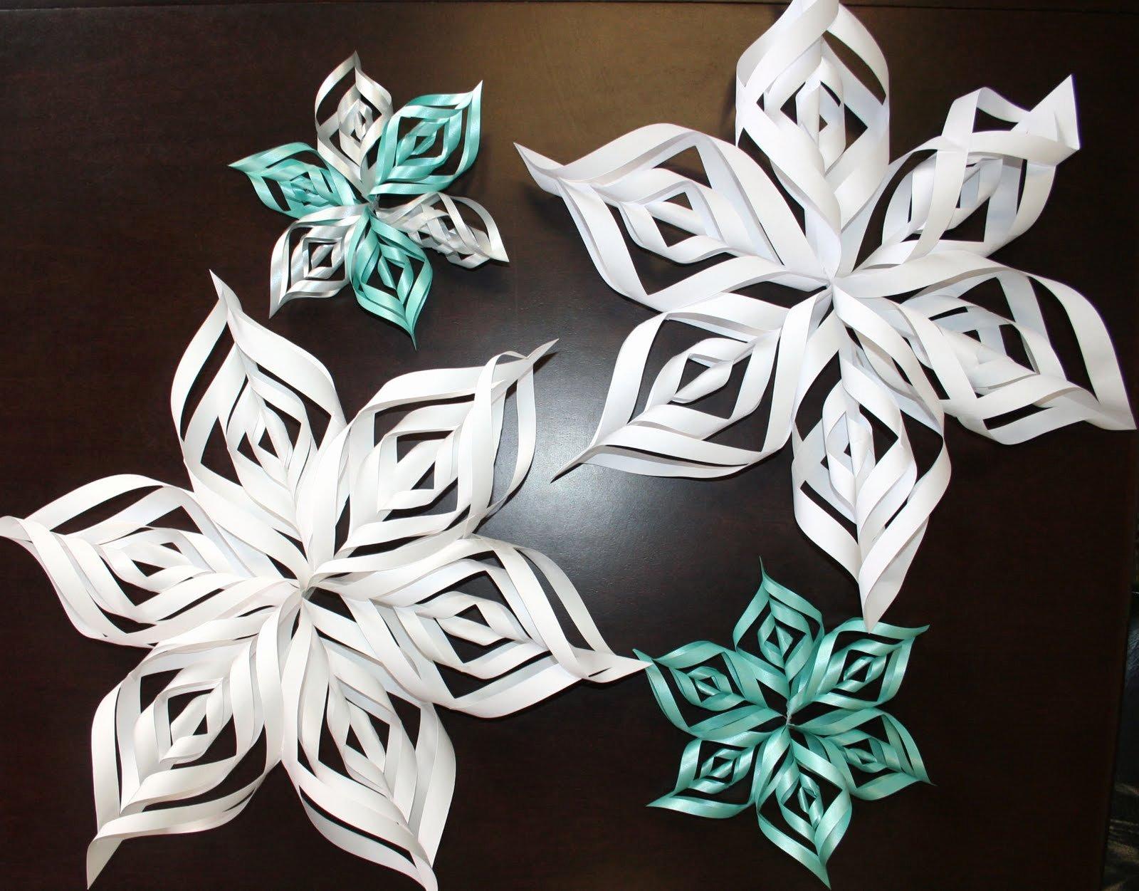 3 D Paper Snowflakes Beautiful Paper Zone Inspiresigneate 3d Snowflake Pattern