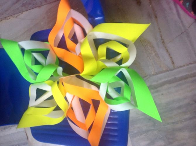 3 D Paper Snowflakes Elegant How to Make A 3d Paper Snowflake 12 Steps with