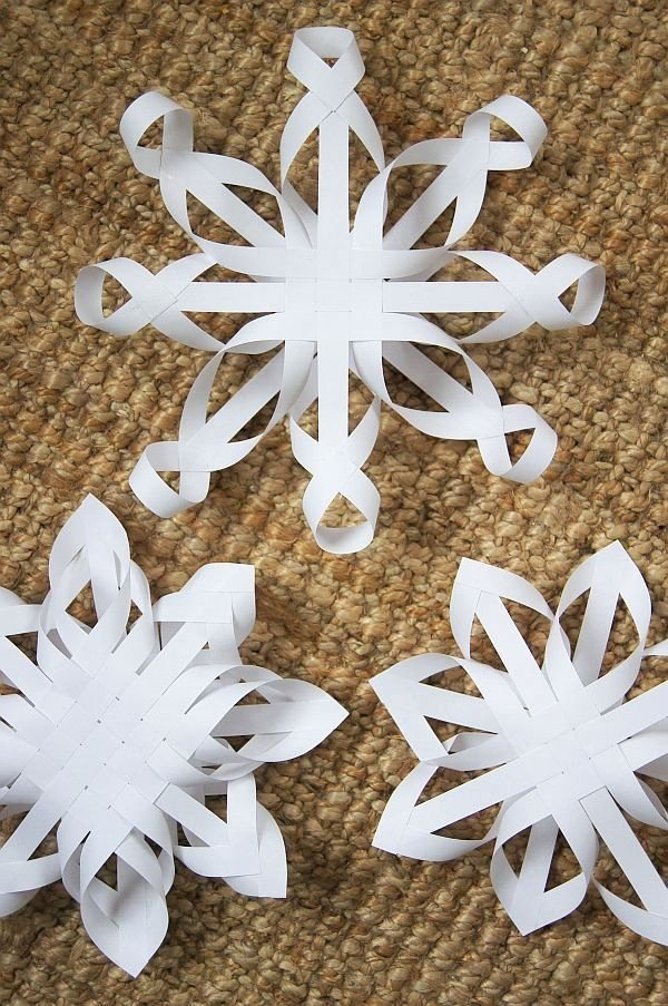 3 D Paper Snowflakes Inspirational 3 D Snowflakes