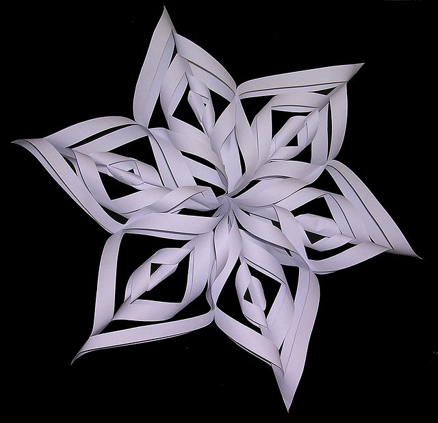 3 D Paper Snowflakes New Christmas Creative Christmas Craft Tutorial 3d Stars