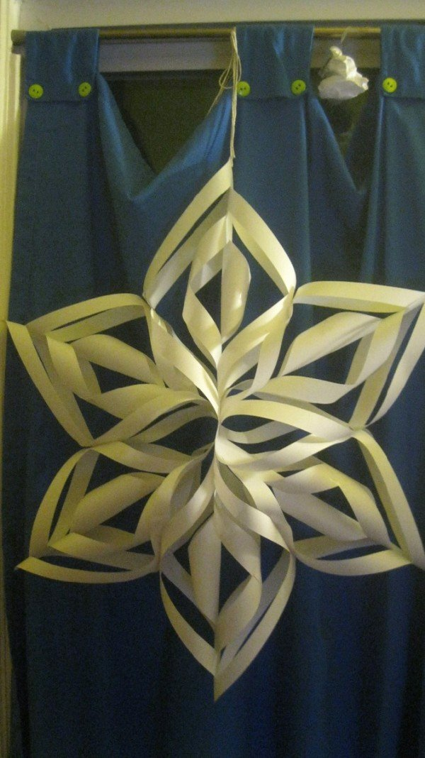 3 D Paper Snowflakes New Making 3d Paper Snowflakes