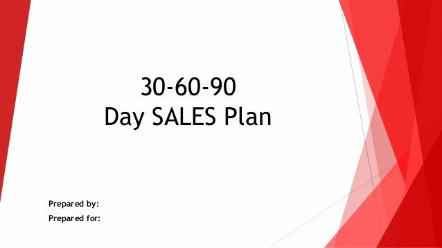 30 60 90 Action Plan Elegant 30 60 90 Day Sales Action Plan