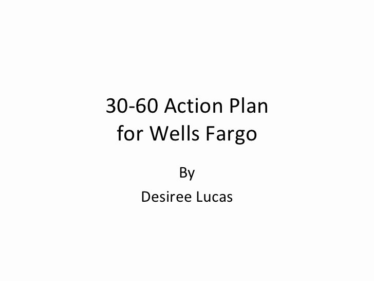 30 60 90 Action Plan Elegant 30 60 Action Plan