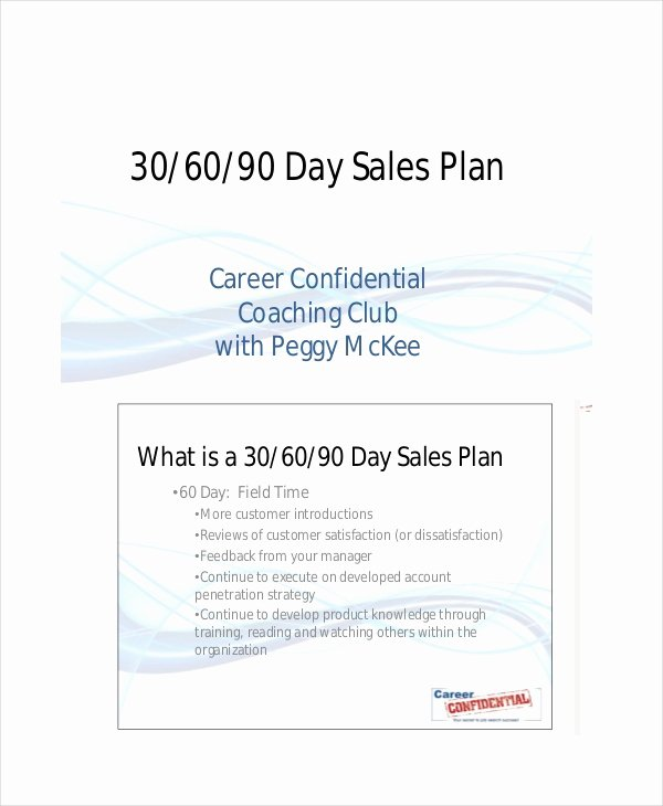 30 60 90 Action Plan New 4 30 60 90 Day Sales Plan Templates Pdf Doc