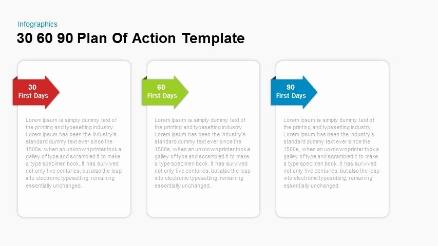 30 60 90 Plan Template Best Of 30 60 90 Plan Action Powerpoint and Keynote Template