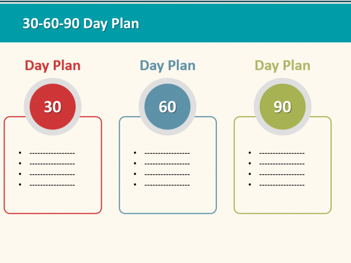 30 60 90 day plan designs thatll help you stay on track powerpoint tutorial 25