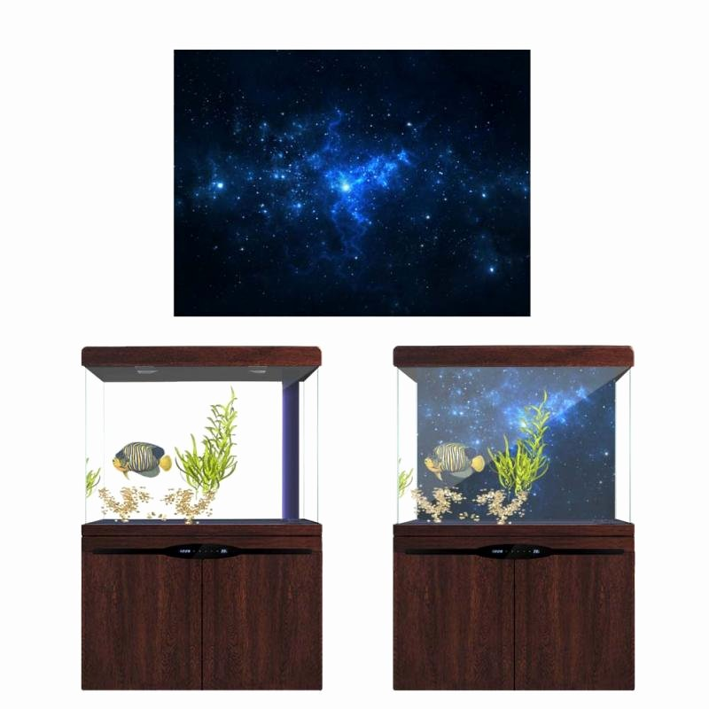 30 Gallon Fish Tank Background New 30 60cm High Glossy Aquarium Background Poster Fish Tank