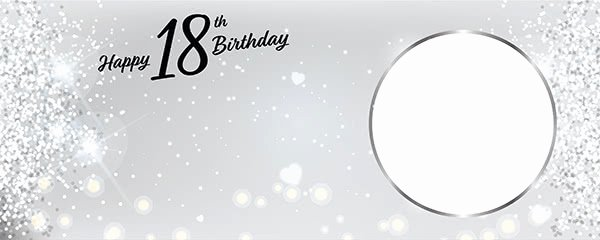 30th Birthday Poster Templates Lovely Personalised 18th Birthday Party Banners