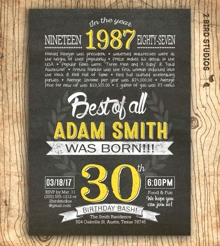 30th Birthday Poster Templates Luxury Cool Free 30th Birthday Invitation Wording