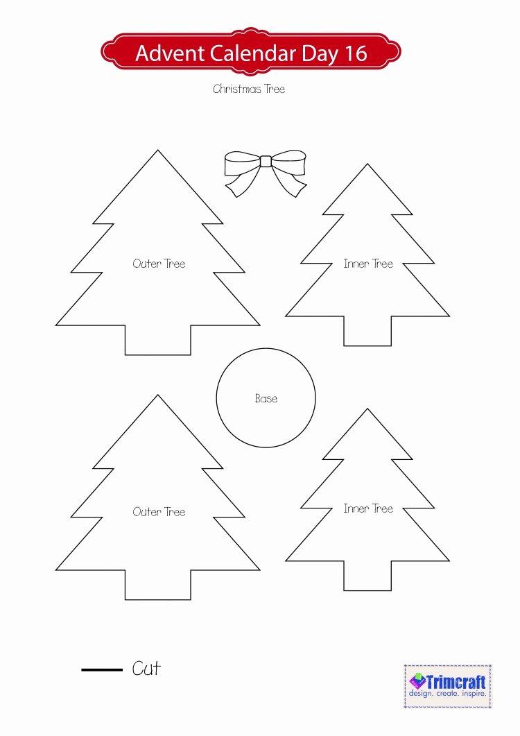 3d Christmas Tree Template Fresh 3d Christmas Tree Template Adv