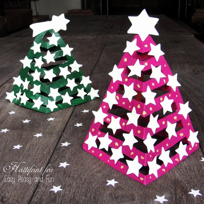 3d Christmas Tree Template Fresh Glow In the Dark 3d Paper Christmas Tree Easy Peasy and Fun
