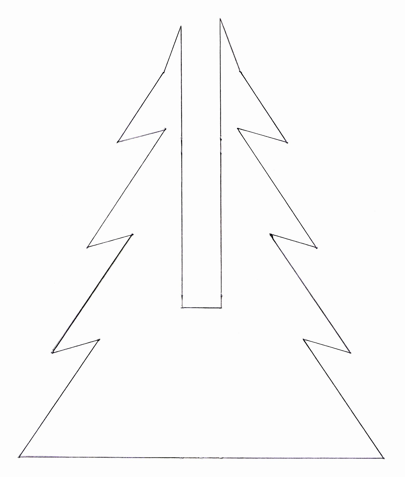3d Christmas Tree Template Fresh Not Martha — 3d Christmas Tree Gingerbread Cookies An Update