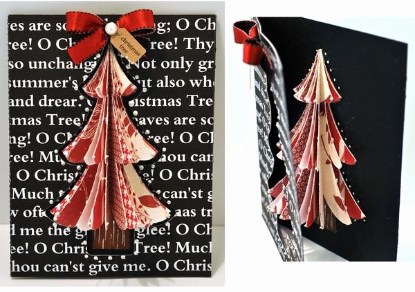 3d Christmas Tree Template Lovely the Cutting Cafe 3d Christmas Tree Set Templates and