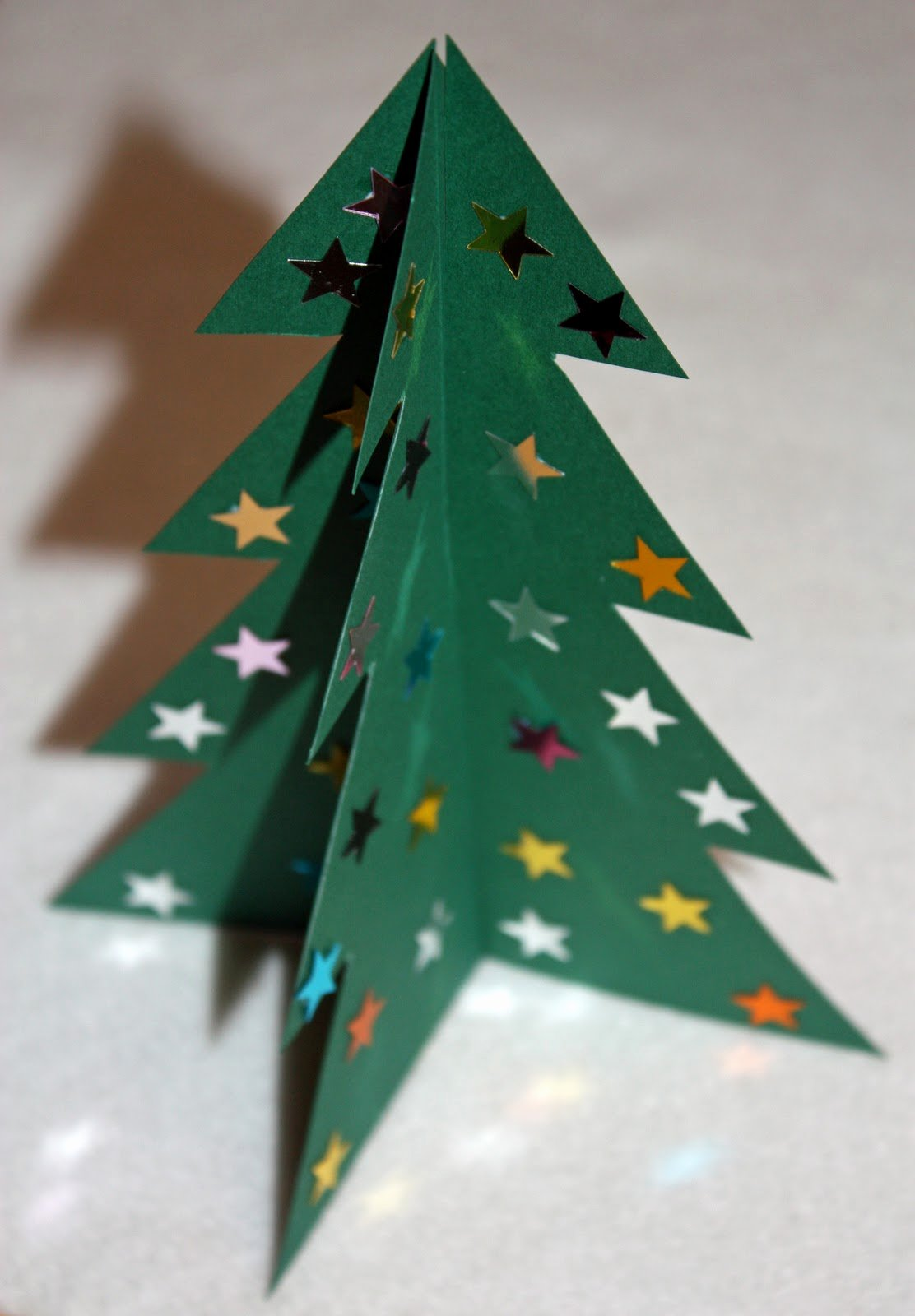 3d Christmas Tree Template Unique Craft and Activities for All Ages Make A 3d Card
