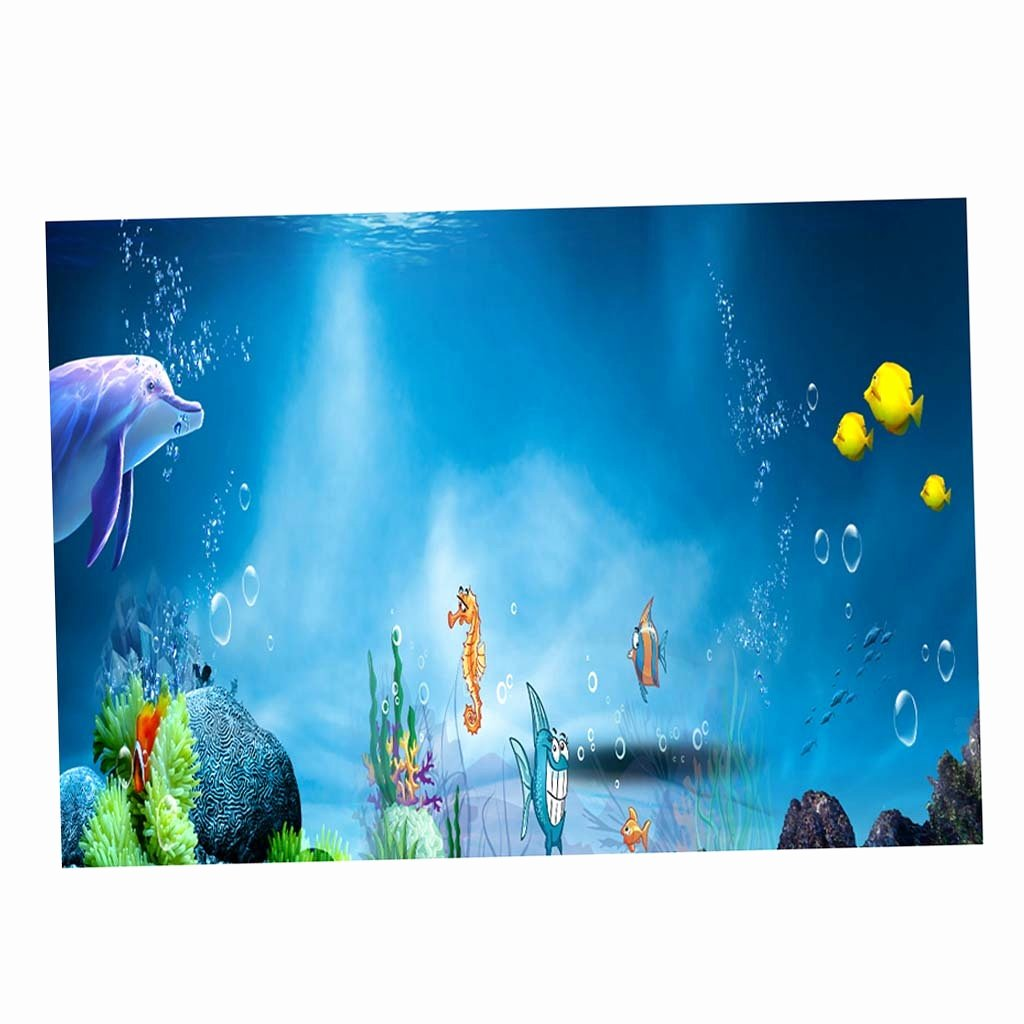 3d Fish Tank Wallpaper Luxury 3d Aquarium Fancy Background Poster Fish Tank Wallpaper