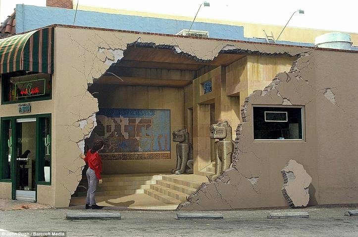 3d Paintings On Wall Inspirational 3d Wall Painting by John Pugh