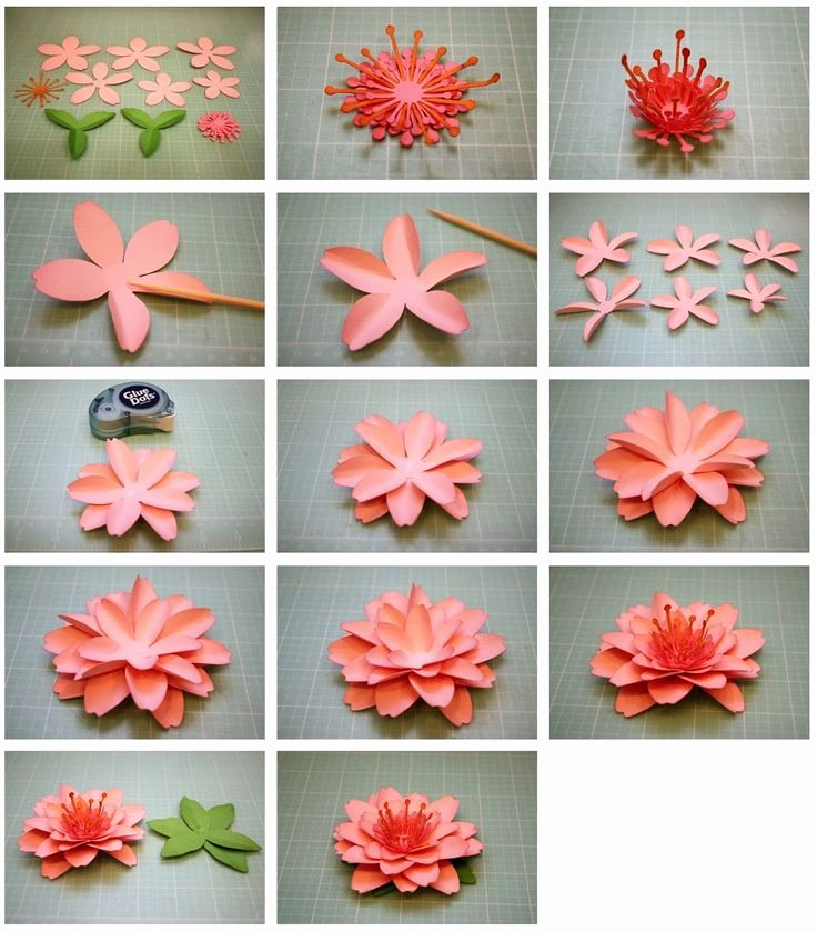 3d Paper Flower Template Best Of Bits Of Paper Daffodil and Cherry Blossom 3d Paper