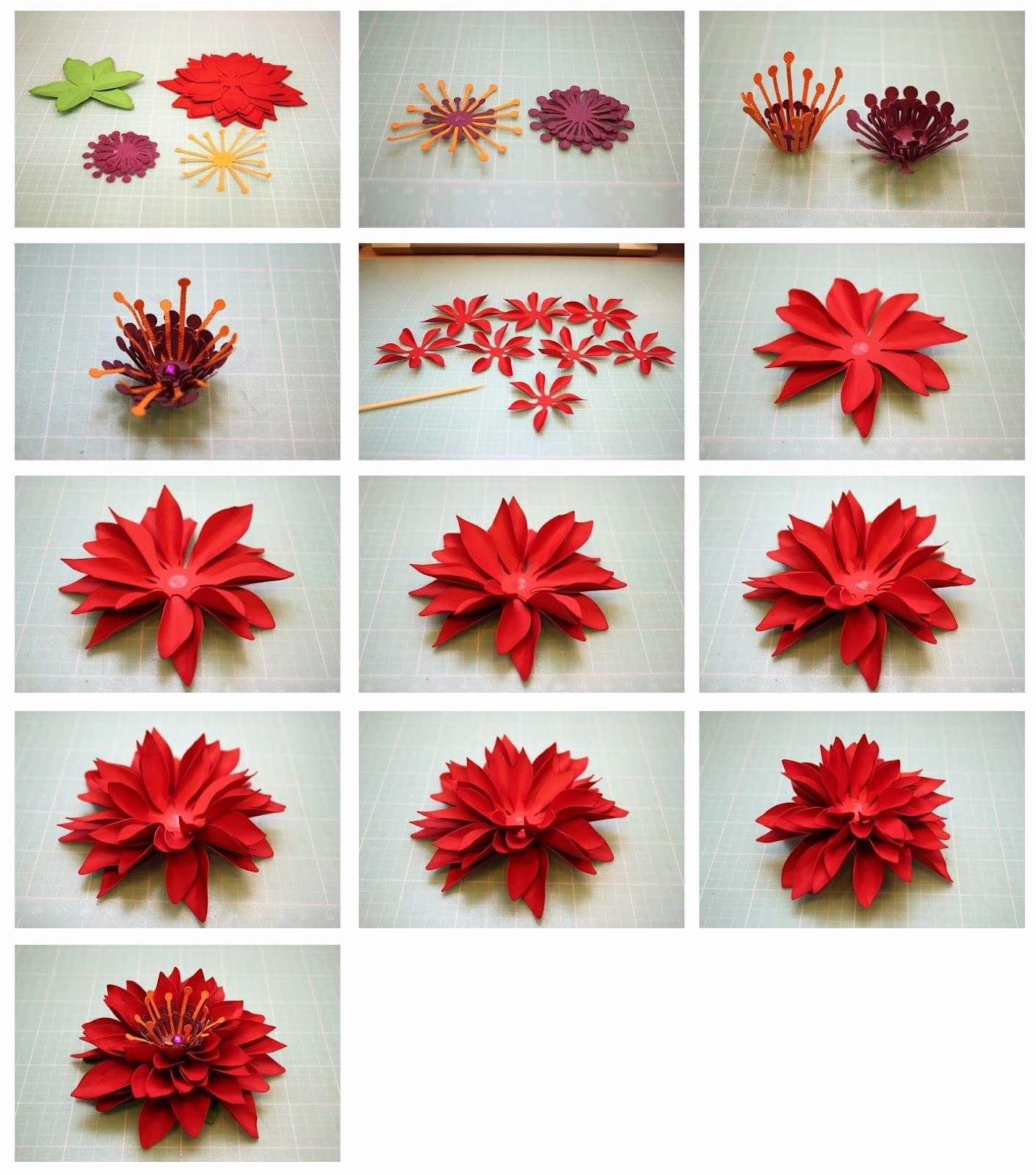 3d Paper Flower Template Fresh Bits Of Paper Mum 3d Paper Flowers