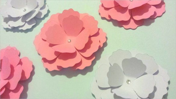 3d Paper Flower Template Luxury 3d Paper Template – 20 Free Psd Eps format Download