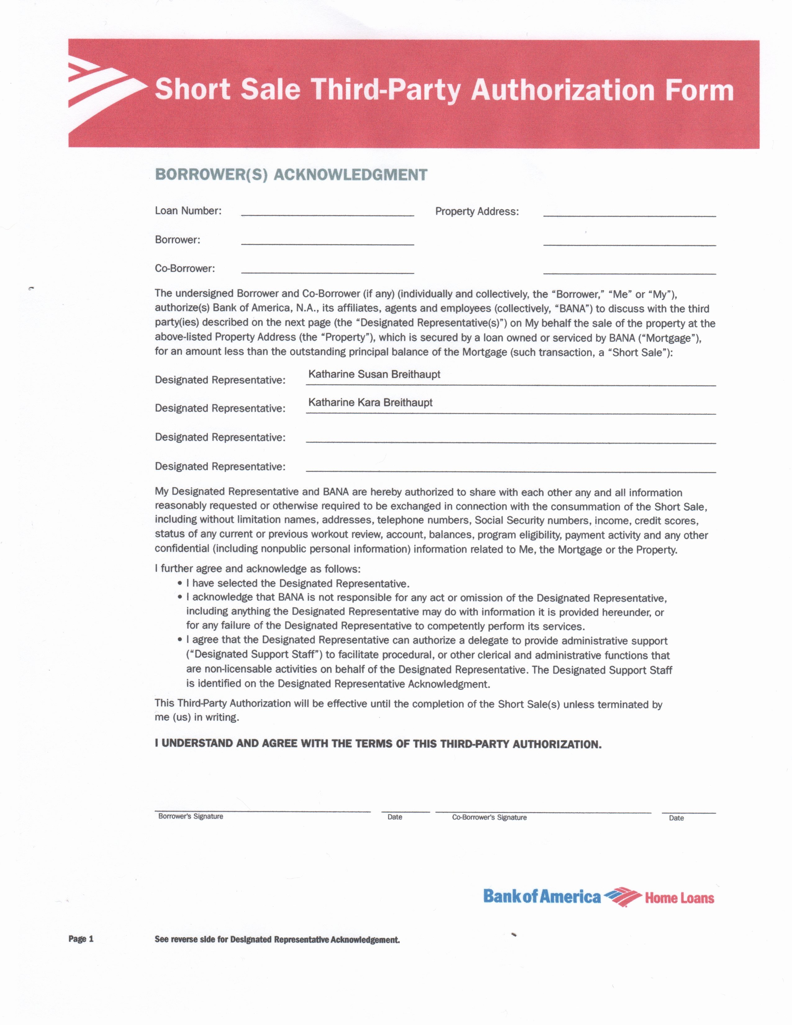 3rd Party Authorization Letter Elegant Templates—3rd Party Authorization