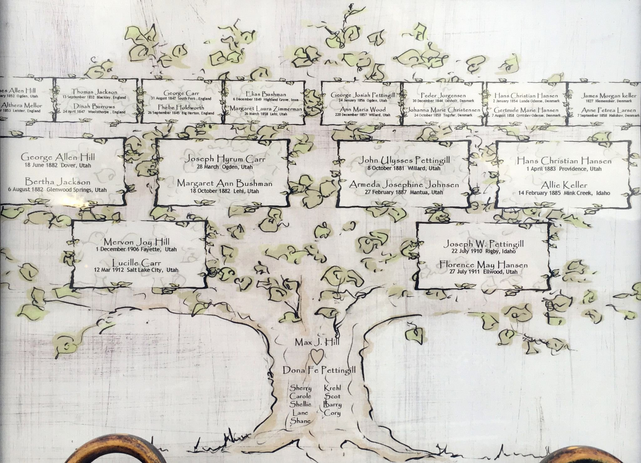 4 Generation Family Tree Template Inspirational Personalized 4 Generation Family Tree