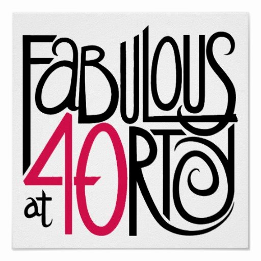 40th Birthday Poster Template Beautiful 40th Birthday Posters 40th Birthday Prints Zazzle Uk