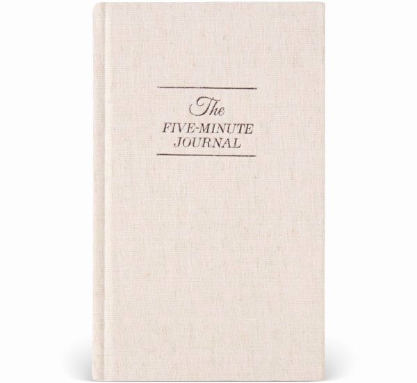 5 Minute Journal Awesome the Five Minute Journal A Happier You In 5 Minutes A Day