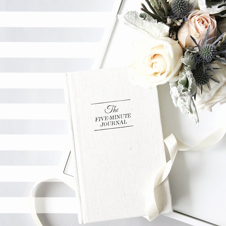 5 Minute Journal Beautiful Daily Reflection for A Happier You This Renegade Love