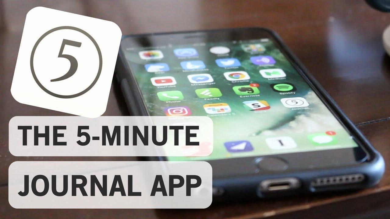 5 Minute Journal Fresh the 5 Minute Journal App