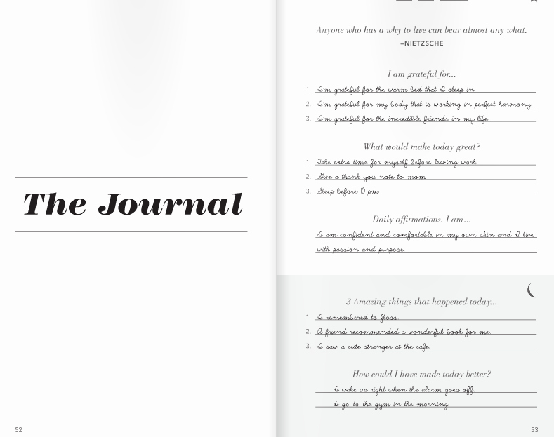 5 Minute Journal Unique My Thread Of thought Five Minute Journal