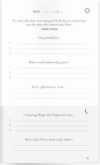 5 Minute Journal Unique the Return Path to Joy Happiness and Bliss Yanik Silver