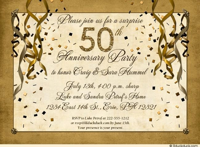 50th Birthday Invitation Wording Samples Awesome 50th Anniversary Invitation Wording Samples