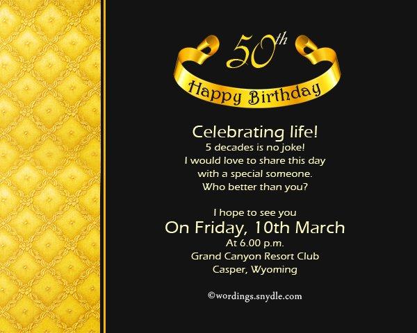 50th Birthday Invitation Wording Samples Fresh 50th Birthday Invitation Wording Samples Wordings and
