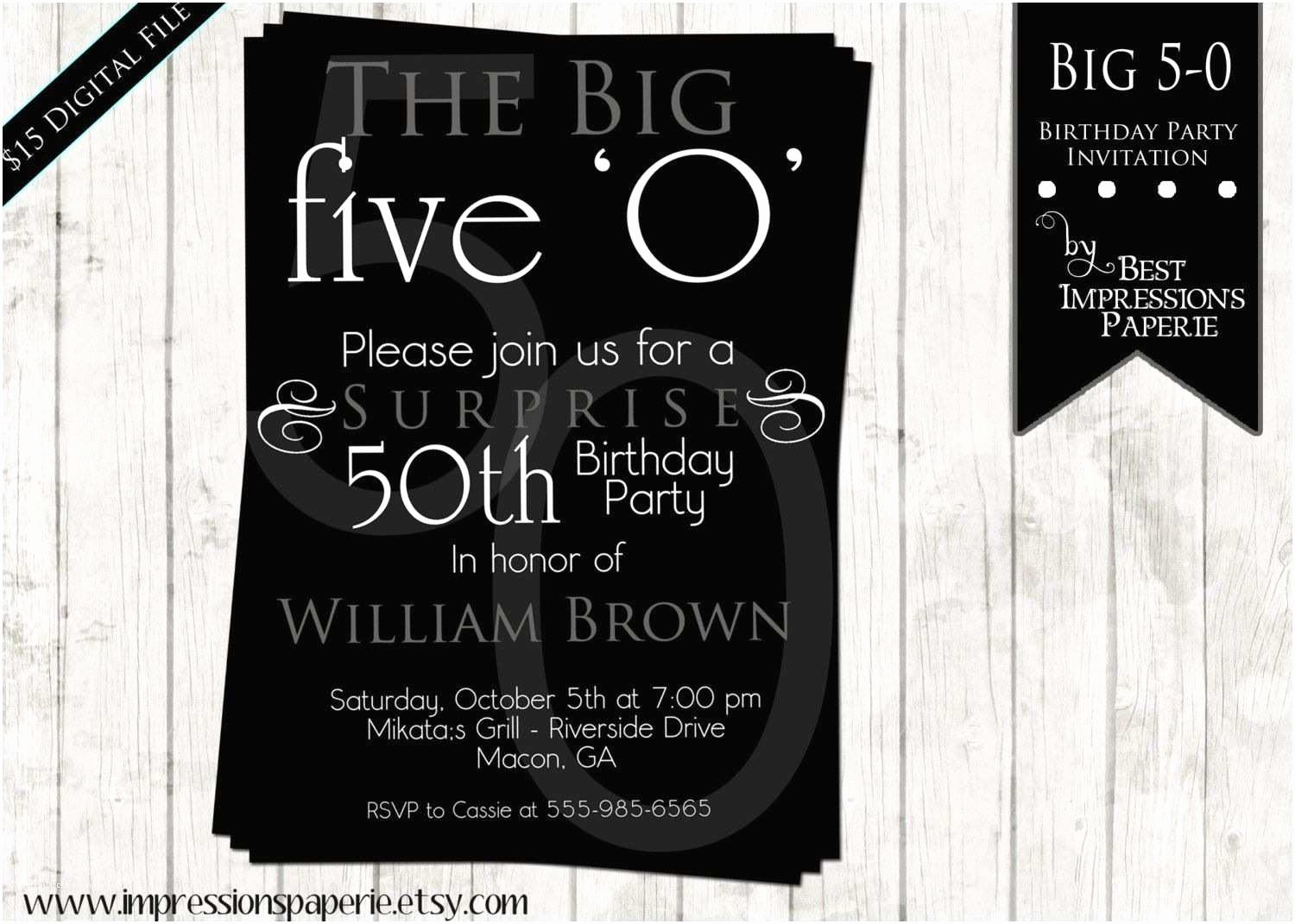 50th Birthday Invitation Wording Samples Fresh 50th Birthday Party Invitations for Her 50th Birthday