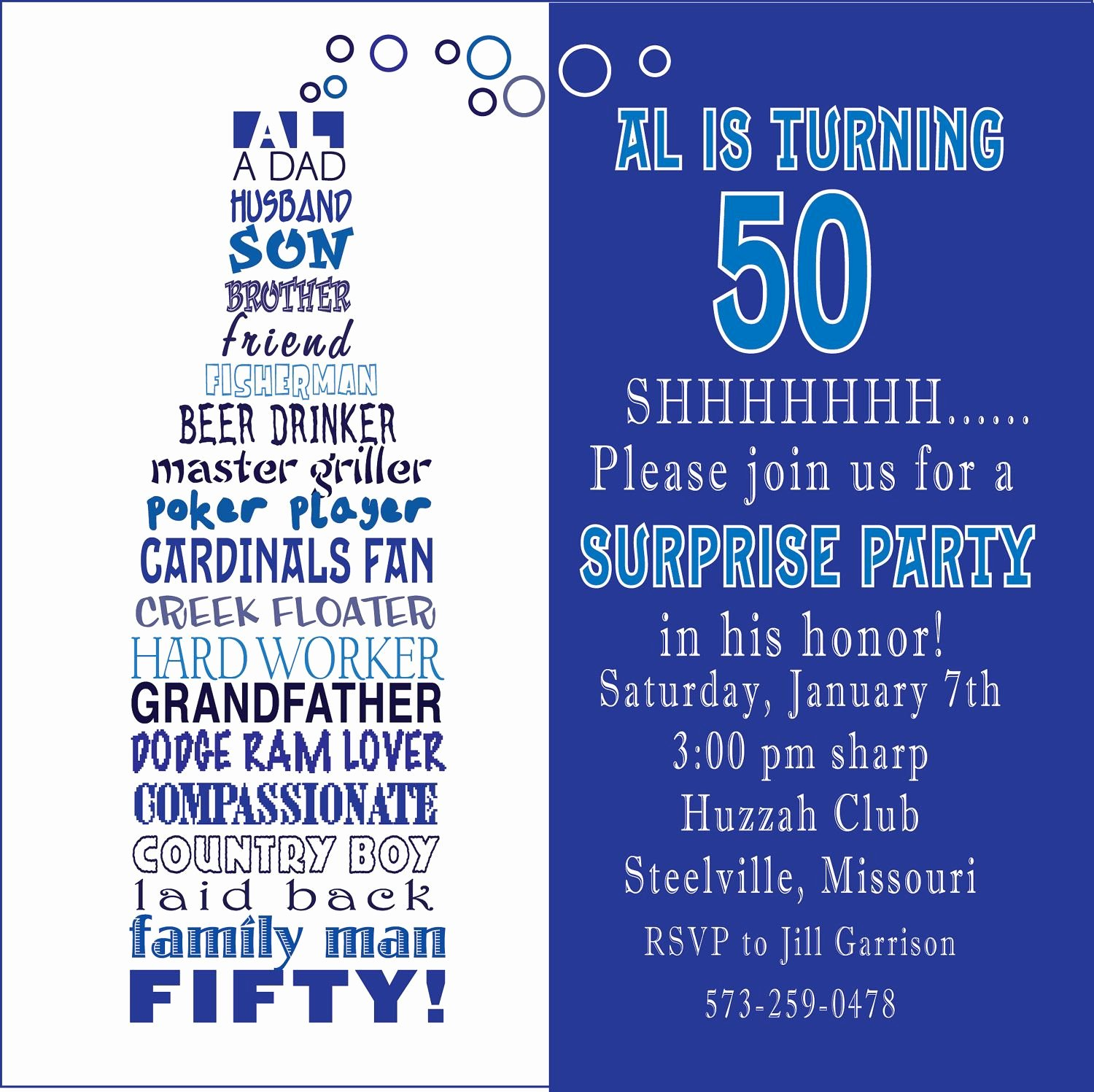50th Birthday Invitation Wording Samples Lovely Awesome Free Template Funny 50th Birthday Party Invitation