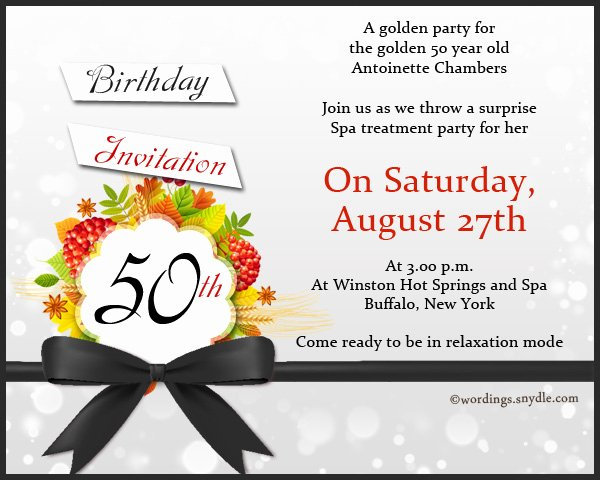 50th Birthday Invitation Wording Samples Unique Teachers Day Invitation Card Matter