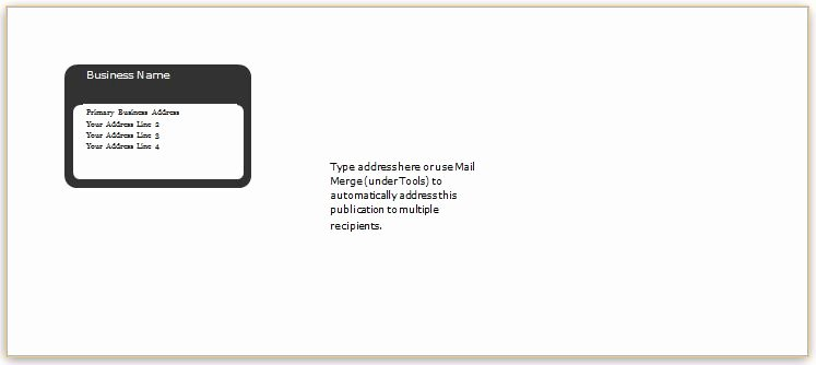 5x7 Envelope Template Microsoft Word Elegant 40 Editable Envelope Templates for Ms Word