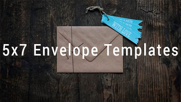 5x7 Envelope Template Microsoft Word New 5x7 Envelope Templates 8 Free Printable Word Psd Pdf