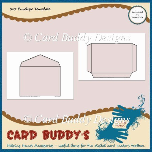 5x7 Envelopes Template Word Best Of 5x7 Envelope Template – Cu Pu £1 80 Scrapbookingmad