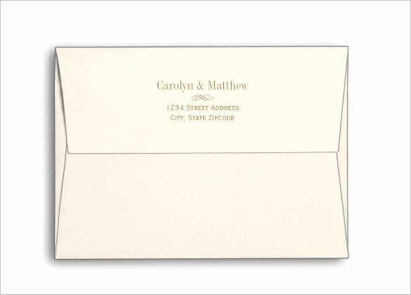 5x7 Envelopes Template Word Inspirational 11 5x7 Envelope Templates Psd Ai Eps